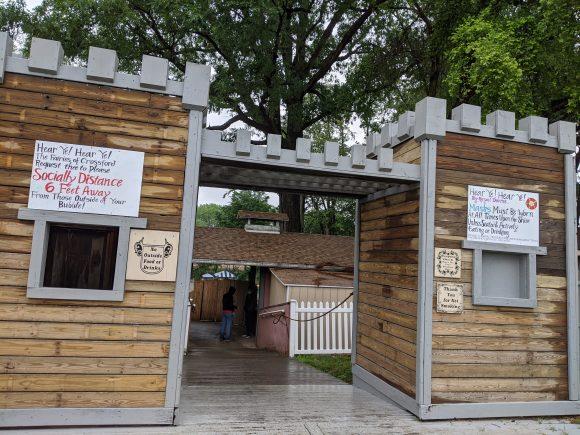 Entrance to the NJ renaissance faire