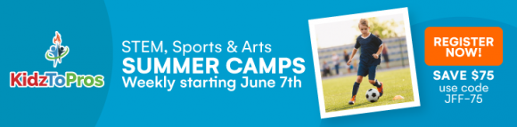 KidztoPro summer camps in Northern New Jersey ad image
