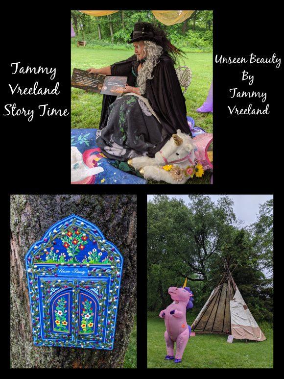 Tammy Vreeland Story Time at the NJ renaissance faire
