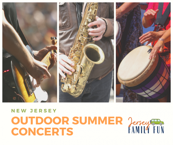 Free summer concerts in New Jersey