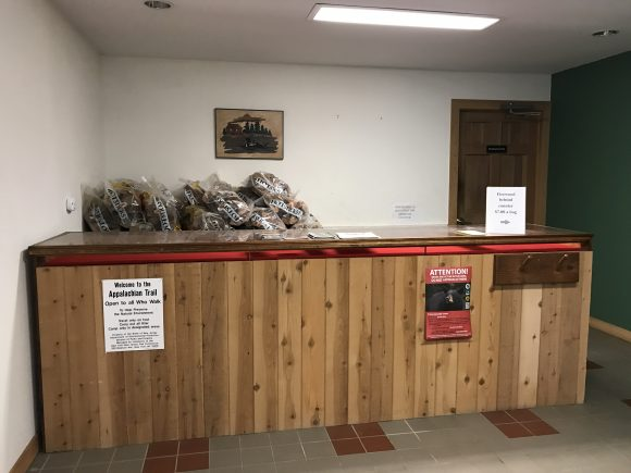 Firewood can be purchased at the Stokes State Forest office