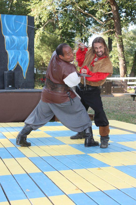 comedy sword fighting at Nj renaissance Faire
