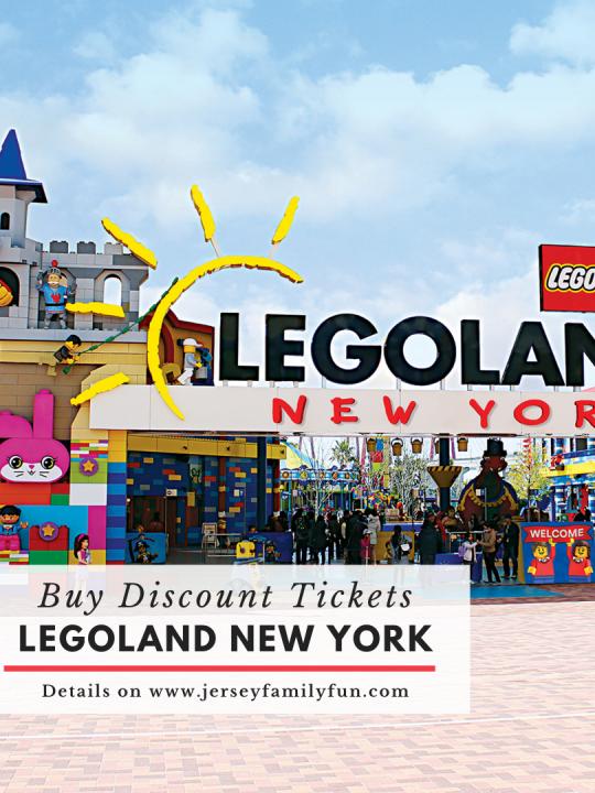 Discount Admission Tickets Legoland New York (Instagram Post)