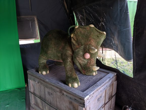 Baby Triceratops at Field Station Dinosaurs in New Jersey