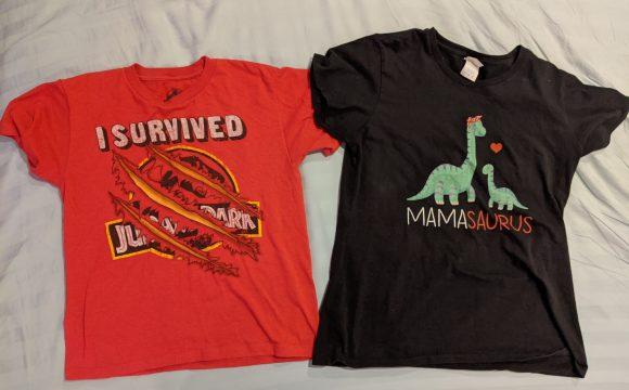 Dinosaur tshirts