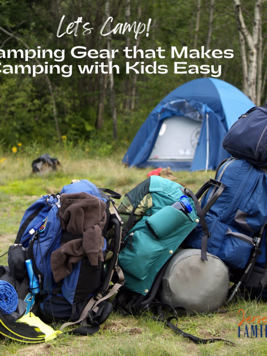 Camping Gear that Makes Camping with Kids Easy square image