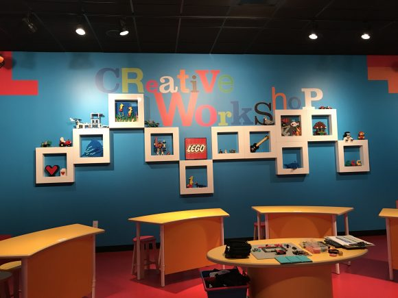 The Creative Workshop at Legoland Discovery Center New Jersey