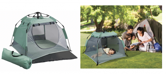 Camping gear - The PeaPod Camp - pack and play for camping.