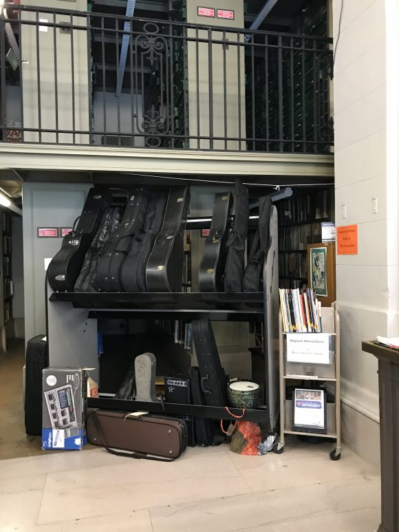 Guitars at the Free Library of Philadelphia