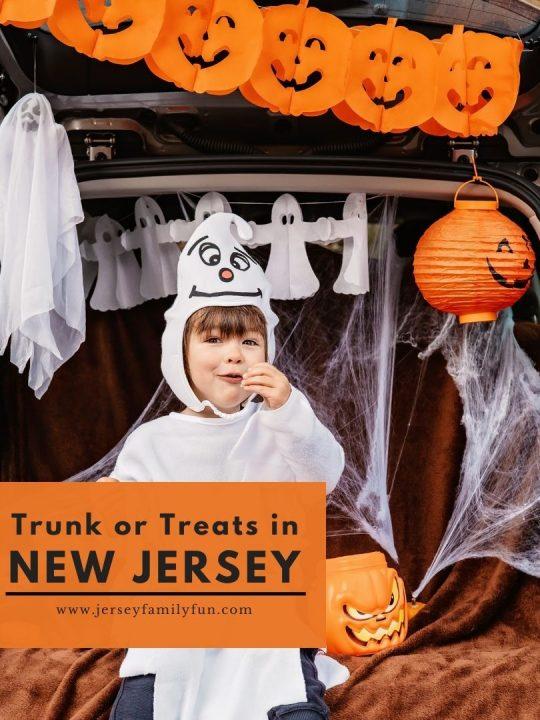 Halloween Trunk or Treats in New Jersey Instagram Post