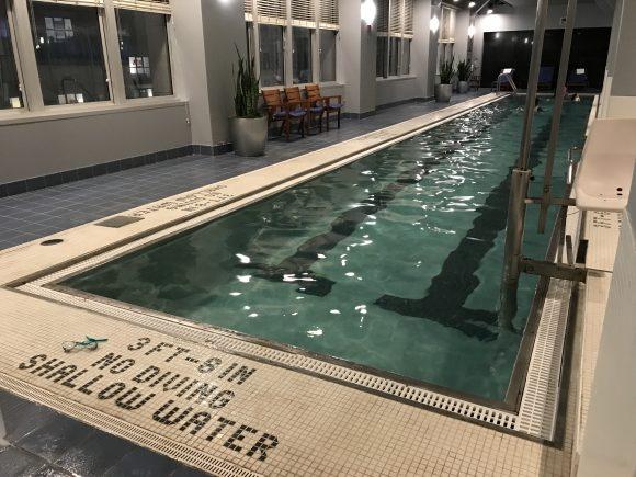 Loews Hotel Philadelphia Indoor Pool