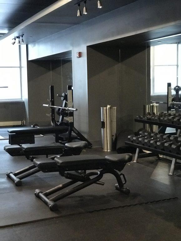 Loews Hotel Philadelphia fitness center