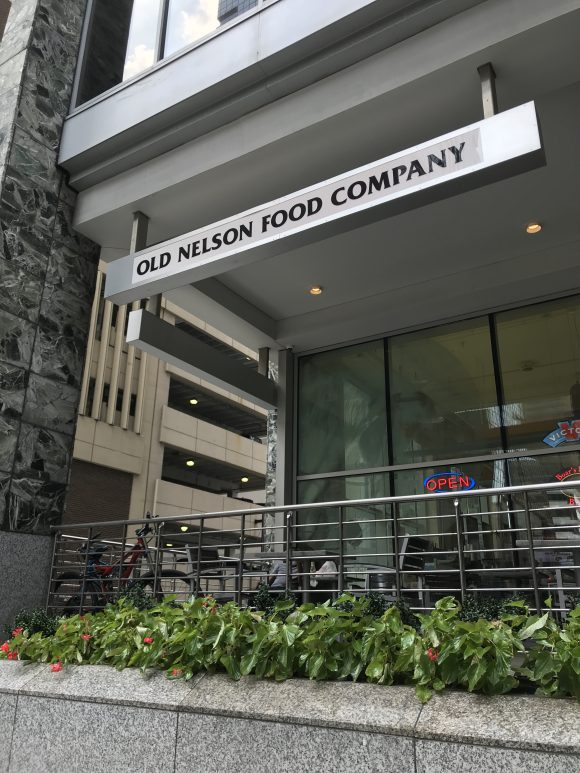 Old Nelson Food Company in Philadelphia has several locations to eat at during your Philadelphia staycation with kids.