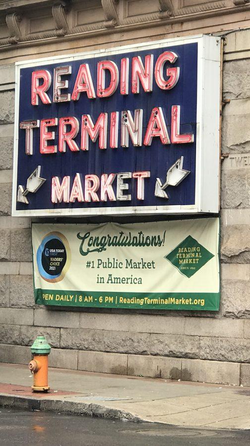 Reading Terminal Market sign